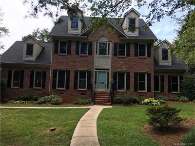 Mint Hill Single Family Home For Sale: 8428 Silver Maple Lane