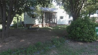 Kannapolis Single Family Home For Sale: 113 Newell Avenue