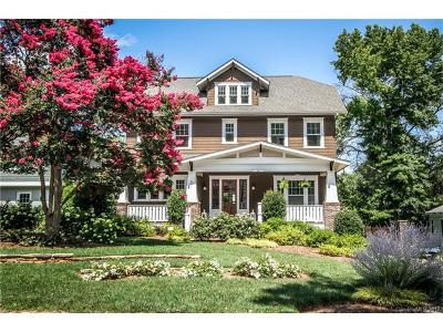 Dilworth Single Family Home For Sale: 2321 Winthrop Avenue