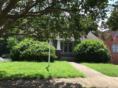 Dilworth Single Family Home For Sale: 2132 Lombardy Circle