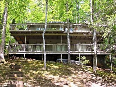 Lake Lure, Mill Spring Single Family Home For Sale: 107 W Shore Drive