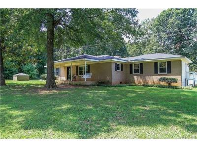 Monroe Single Family Home For Sale: 5806 Old Pageland Marshville Road