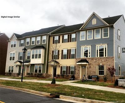 Charlotte Condo/Townhouse For Sale: 3054 Potomac River Parkway #1013D