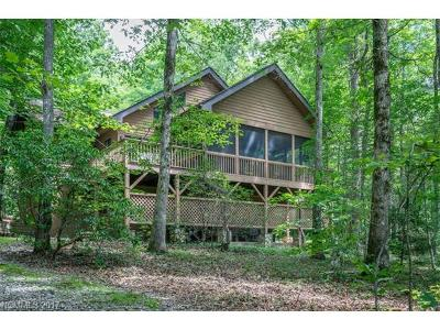 Lake Toxaway Single Family Home For Sale: 662 Cherokee Trace