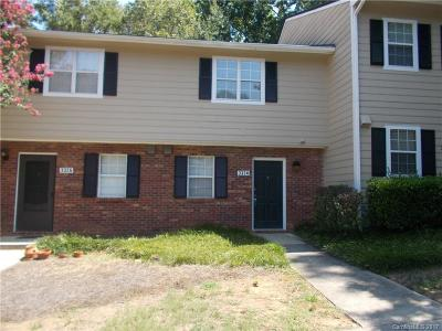 Charlotte Condo/Townhouse For Sale: 3324 Heathstead Place
