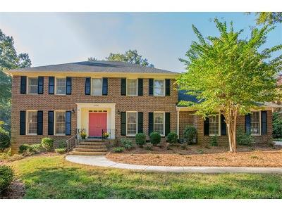 Charlotte Single Family Home For Sale: 3134 Chaucer Drive