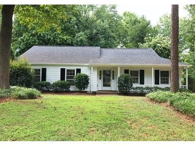 Charlotte Single Family Home For Sale: 1007 Wishing Well Lane #12