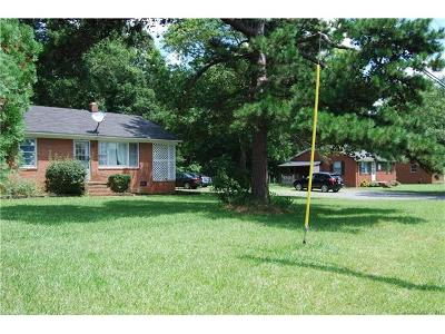Indian Trail Single Family Home For Sale: 4625 Old Charlotte Highway
