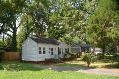 Charlotte Single Family Home For Sale: 1020 Leigh Avenue