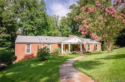 Asheville Single Family Home For Sale: 32 Pheasant Drive