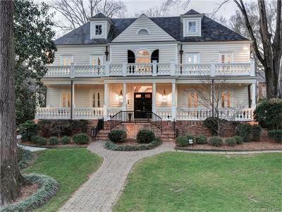 Myers Park Single Family Home For Sale: 1300 Queens Road W