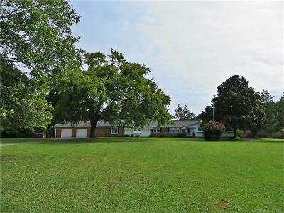 Clover Single Family Home For Sale: 1636 Saint Paul Church Road