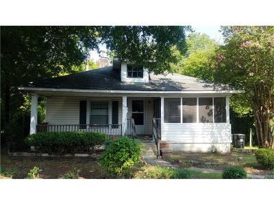 Concord Single Family Home For Sale: 242 Hilltop Avenue SW