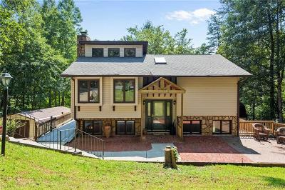 Lake Lure Single Family Home Under Contract-Show: 350 Raleigh Drive