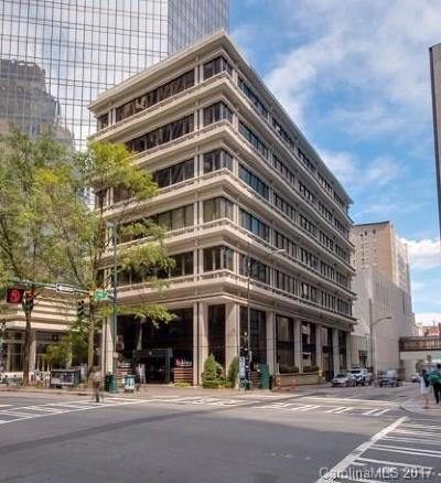 Charlotte Condo/Townhouse For Sale: 139 S Tryon Street #5A