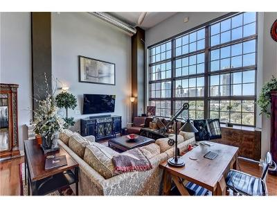Charlotte Condo/Townhouse For Sale: 715 Graham Street #408