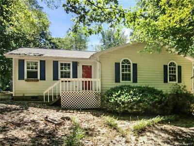 Waxhaw Single Family Home Under Contract-Show: 6621 High Gap Road