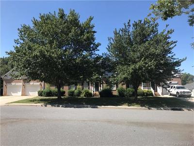 Charlotte Multi Family Home For Sale: 5605 Glen Cove Drive #A &