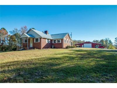 Wadesboro Single Family Home For Sale: 308 Allen Pond Road