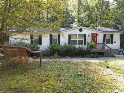 Brevard Single Family Home For Sale: 343 Long Ridge Road #Red Door