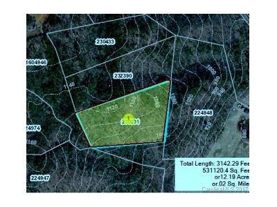 Lake Lure Residential Lots & Land For Sale: Freemantown Road