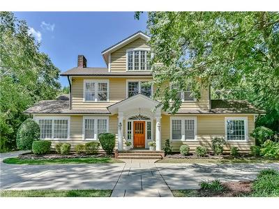 Myers Park Single Family Home For Sale: 930 Queens Road