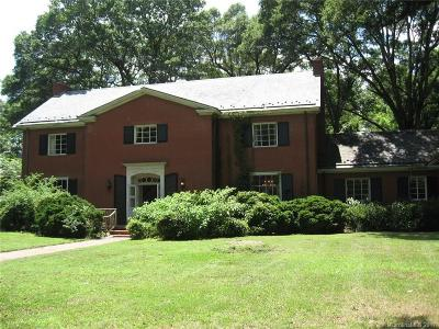 Mecklenburg County, Union County, Gaston County, Lancaster County, York County, Cabarrus County, Iredell County, Rowan County Single Family Home For Sale: 486 Union Street S