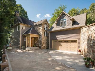 Lake Lure, Mill Spring Single Family Home For Sale: 379 Lurewoods Manor Drive