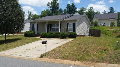 Concord NC Single Family Home For Sale: $121,900