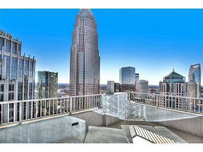 Charlotte Condo/Townhouse For Sale: 210 Church Street N #3501