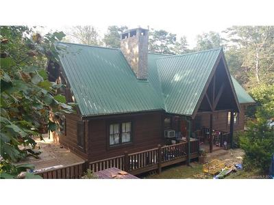 Lake Lure Single Family Home For Sale: 587 Pheasant Street