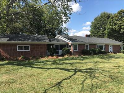 Cherryville NC Single Family Home For Sale: $139,000