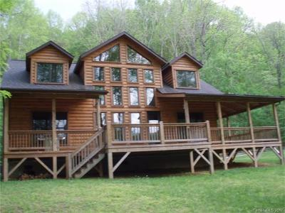 Maggie Valley Single Family Home For Sale: 315 Katua Trail