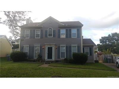 Charlotte NC Single Family Home For Sale: $145,000