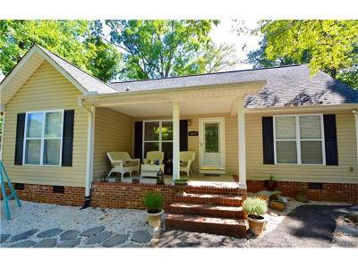 Terrell Single Family Home For Sale: 3970 Kiser Island Road