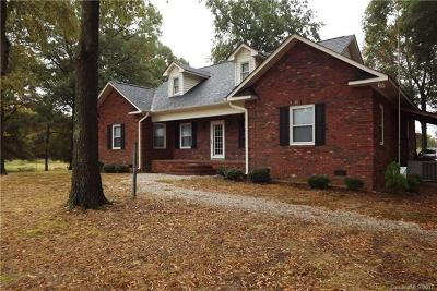 Marshville Single Family Home For Sale: 2204 Old Peachland Road
