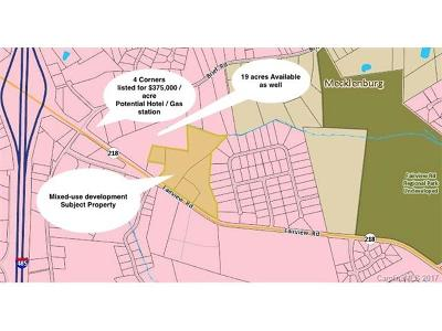 Mint Hill Residential Lots & Land For Sale: 9763 Fairview Road