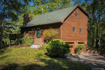 Lake Lure Single Family Home Under Contract-Show: 170 Ransom Road