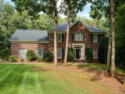 Matthews Single Family Home For Sale: 4000 Horseshoe Bend