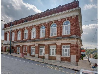 Rutherfordton Commercial For Sale: 134 Washington Street N