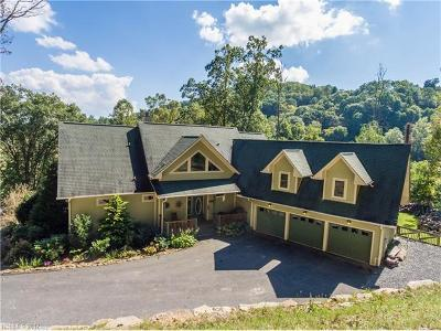 Waynesville Single Family Home For Sale: 1128 Coyote Hollow Road