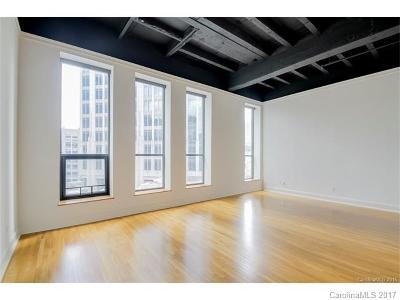 Condo/Townhouse For Sale: 127 Tryon Street N #409