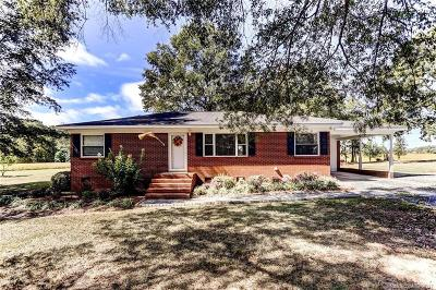 Marshville Single Family Home Under Contract-Show: 404 Cm James Road