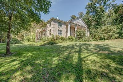Mecklenburg County, Union County, Gaston County, Lancaster County, York County, Cabarrus County, Iredell County, Rowan County Single Family Home For Sale: 490 Carolina Downs Road