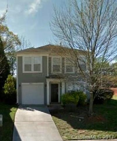Charlotte NC Single Family Home For Sale: $142,000