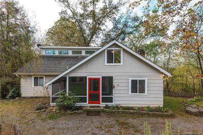 Asheville Single Family Home Under Contract-Show: 58 Hidden Falls Drive