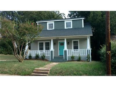 Charlotte Single Family Home For Sale: 608 Campus Street