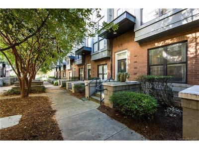 Charlotte NC Condo/Townhouse For Sale: $289,000