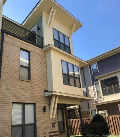 Charlotte Condo/Townhouse For Sale: 3427 Steel Yard Court