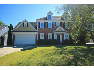 Charlotte Single Family Home For Sale: 8427 Quintrell Drive
